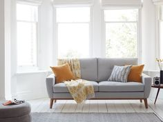 The Elvis three seat sofa in Pumice house cotton blend, £1,190