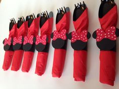 minnie mouse party supplies red and black | Red Polka Dot Minnie Mouse Party Supplies - Galery Cake Picture ...