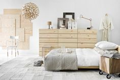 Best Home Interior Design: Scandinavian Style Bedroom - Best Home interior design, home decorations photo and pictures, home design trends, and contemporary world architecture news inspiration to your home. Scandinavian Style Bedroom, Scandinavian Interior, Nordic Bedroom, Scandi Style, Nordic Style, Ivar Regal, Gender Neutral Bedrooms, White Bedrooms, Sweet Home