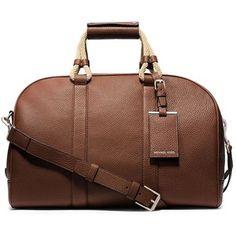 Michael Kors Tech Compatible Leather Duffle Bag