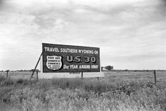 Route 30, Wyoming, USA, 1948.