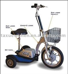 zappy elektrodreirad three wheel scooter neu 750watt. Black Bedroom Furniture Sets. Home Design Ideas