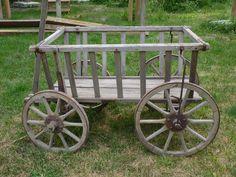 Lg antique German Milk wagon $450 in Ames, IA