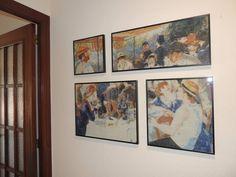 El almuerzo de los remeros *Pierre-Auguste Renoir Hecho en 2015