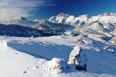 Gresse-en-Vercors vous charmera par ses paysages et ses activités sportives! #ski  Alpes du Sud