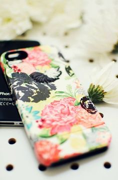 MICHELLA watercolor floral, iPhone 6, iPhone 6 plus, iPhone 5/5s case