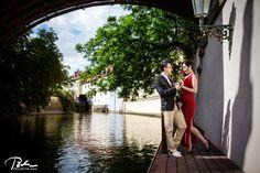 Summer Prewedding photo shoot in prague #prague #prewedding