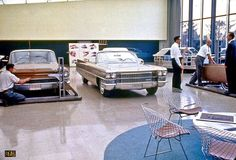 OG | 1964 Cadillac Eldorado Mk4 Facelift and Biarritz convertible | Full-size clay models photographied in 1963