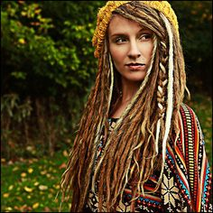 I'm a little obsessed with dreadlocks, but I can't bring myself to try them yet...