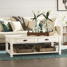 Primitive Coffee Table in Jo | Magnolia Home | Nebraska Furniture Mart