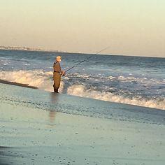 Watch Hill, East Beach - The Fisherman 2015