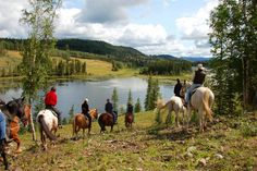 Horse ranch riding in Cowboy Country at Crystal Waters Ranch