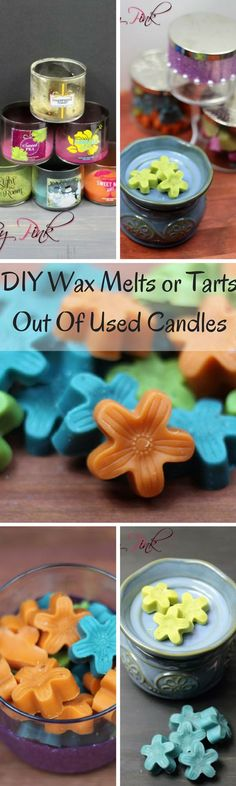 DIY Wax Melts or Tarts Out Of Used Candles häkeln How To Make Wax Melts From Your Bath and Body Works Candles ⋆ by Pink häkeln Old Candles, Best Candles, Candle Wax, Candle Melts, Diy Wax Melts, Diy Cupcake, Homemade Candles, Diy Candles Scented, Wax Warmers
