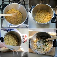 Pressure cooker Mac and cheese-Italian style pressure cooker pasta step-by-step photos