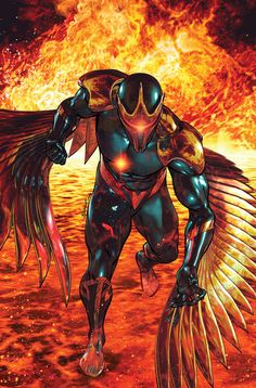War of Kings: Darkhawk #2 by Brandon Peterson.