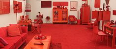Inhotim - obra em vermelho