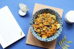 Mes alliés Batch cooking | Les currys - Cuisine saine et gourmande - Miss Blemish Dog Food Recipes, Cooking Recipes, Healthy Recipes, Le Curry, Batch Cooking, Chana Masala, Acai Bowl, Meal Prep, Lunch Box
