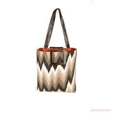 FLAME BLACK LARGE TOTE  BAXTER DESIGNS  $295.00 USD