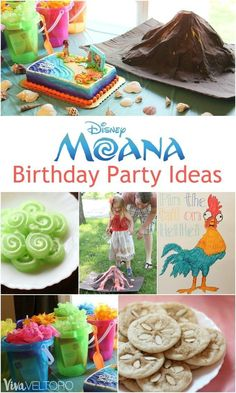 These Moana birthday party ideas are so adorable!