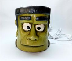 Scented Wax Warmer Frank Frankenstein Halloween Spooky Creepy Monster Decor NEW