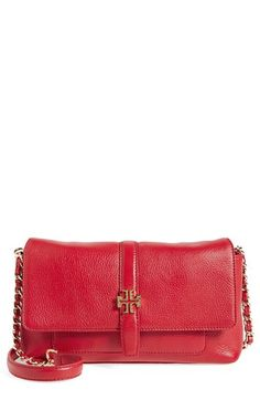Tory Burch 'Plaque' Chain Crossbody Bag available at #Nordstrom