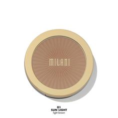 SILKY MATTE BRONZING POWDERThe silky, lightweight texture seamlessly blends into skin without streaking, while hydrating and anti-aging Argan Oil provide long wear. Milani Cosmetics, Makeup Cosmetics, Beauty Makeup, Eye Makeup, Matte Makeup, Baked Blush, Pigmentation, Brow Color, Brow Pomade