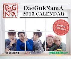 #DaeGukNamA - 2015 Desk #Calendar, #kpop  -- click on the pic to order now