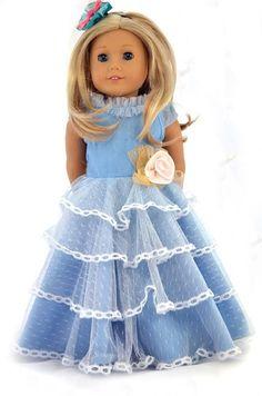 Long dress 18 doll