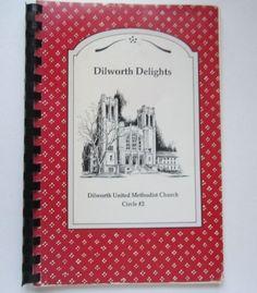 Dilworth United Methodist Church Cookbook Charlotte NC Cookbook printed by Cookbook Publishers in Lenexa, KS