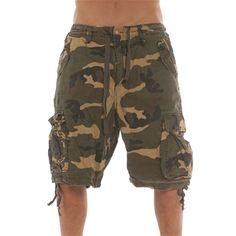 Camo shorts..