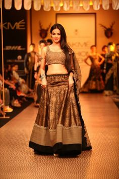 Lakme Fashion Week Winter 2013 - Jatin Varma, Nikhil Thampi, Shantanu Goenka #lehenga #choli #indian #shaadi #bridal #fashion #style #desi #designer #blouse #wedding #gorgeous #beautiful