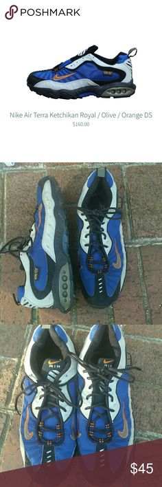 Nike Air Terra Ketchikan Great used condition. These were only worn a couple of times and not in harsh conditions. Waterproof Gore-tex sets these apart from other running shoes Nike Shoes Athletic Shoes