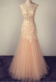 Charming Evening Dress,Long Evening