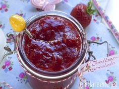 Strawberry marmalade Preserves, Sweet Treats, Strawberry, Fish, Canning, Breakfast, Breads, Recipes, Marmalade