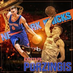 Kristaps Porzingis graphics by justcreate Sports Edits