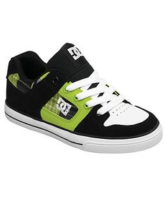 DC Shoes Kids Shoes, Boys and Little Boys Pure Sneakers - Kids Kids Shoes - Macy's
