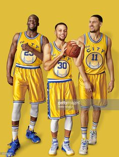 Portrait of Golden State Warriors (L-R) forward Draymond Green (23), point guard…