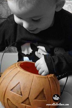 Calabaza Halloween, diy , Halloween , fotografia bebes ...