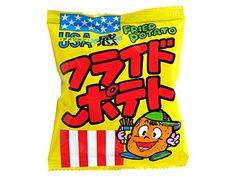 Amazon.co.jp: 菓道の太郎シリーズ  USA感 フライドポテト (1大袋は10g小袋が30袋入り): 食品・飲料・お酒