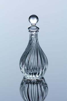 Dollhouse Miniatures Club-Shaped Glass Perfume Bottle | eBay