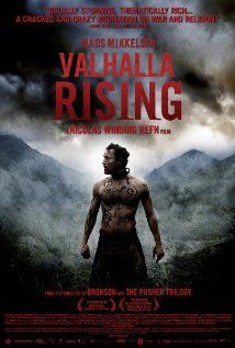 Valhalla Rising (2009) - I was surprised to have enjoyed this so thoroughly. If you have trouble making sense of it, think of the sense of the time. Simplistic, childlike and often misguided faith based actions, fused within a raw and violent time of existence. It makes a dizzy whirlpool of beliefs. Mystical or realistic?;) Loved this!