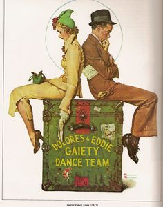 Norman+Rockwell+-+Dancers.jpg (1257×1600)