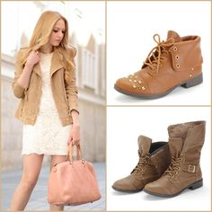 #combat #boots #winter #fashion