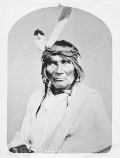 Mis-ko-pe-nen-sha or Red Bird, Chippewa, 1869
