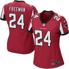Women's Atlanta Falcons Devonta Freeman Nike Red Game Jersey