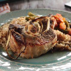 Pork Chops and Rice By Trisha Yearwood