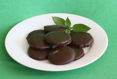 Picture of Homemade Thin Mint Cookies