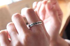 "Etsy のjapan,kyoto,kumihimo,silver,jewelry,ring,color,""Kumihimo no iro ring"",silver,925,ring,japan,japanese,design,kawaii,gothic,cute,wedding,no24(ショップ名:CHARISJewelry)"