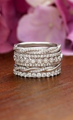 Rings | stacked