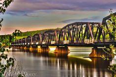 Train Bridge - Prince George, BC